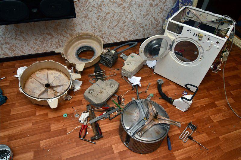 гремит стиральная машина