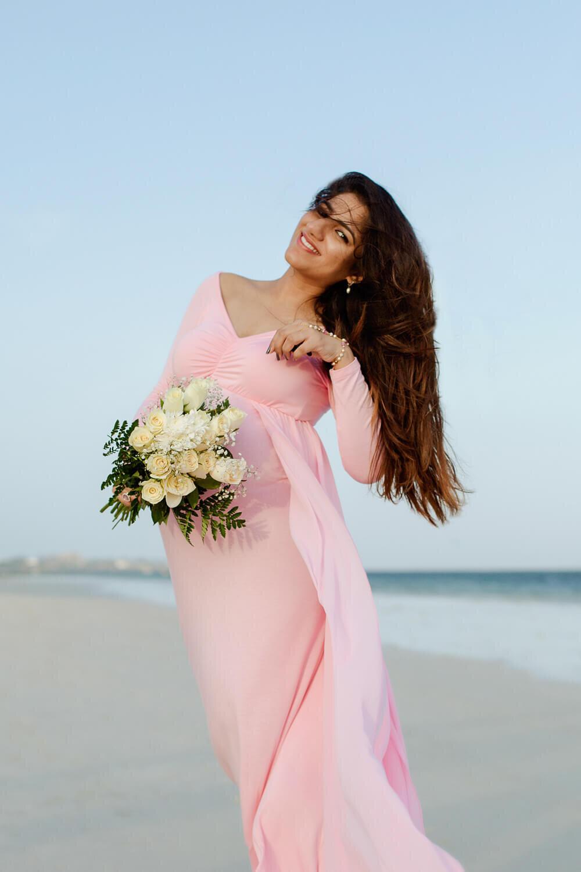 Kenya Mombasa Beach Pregnancy Photographer