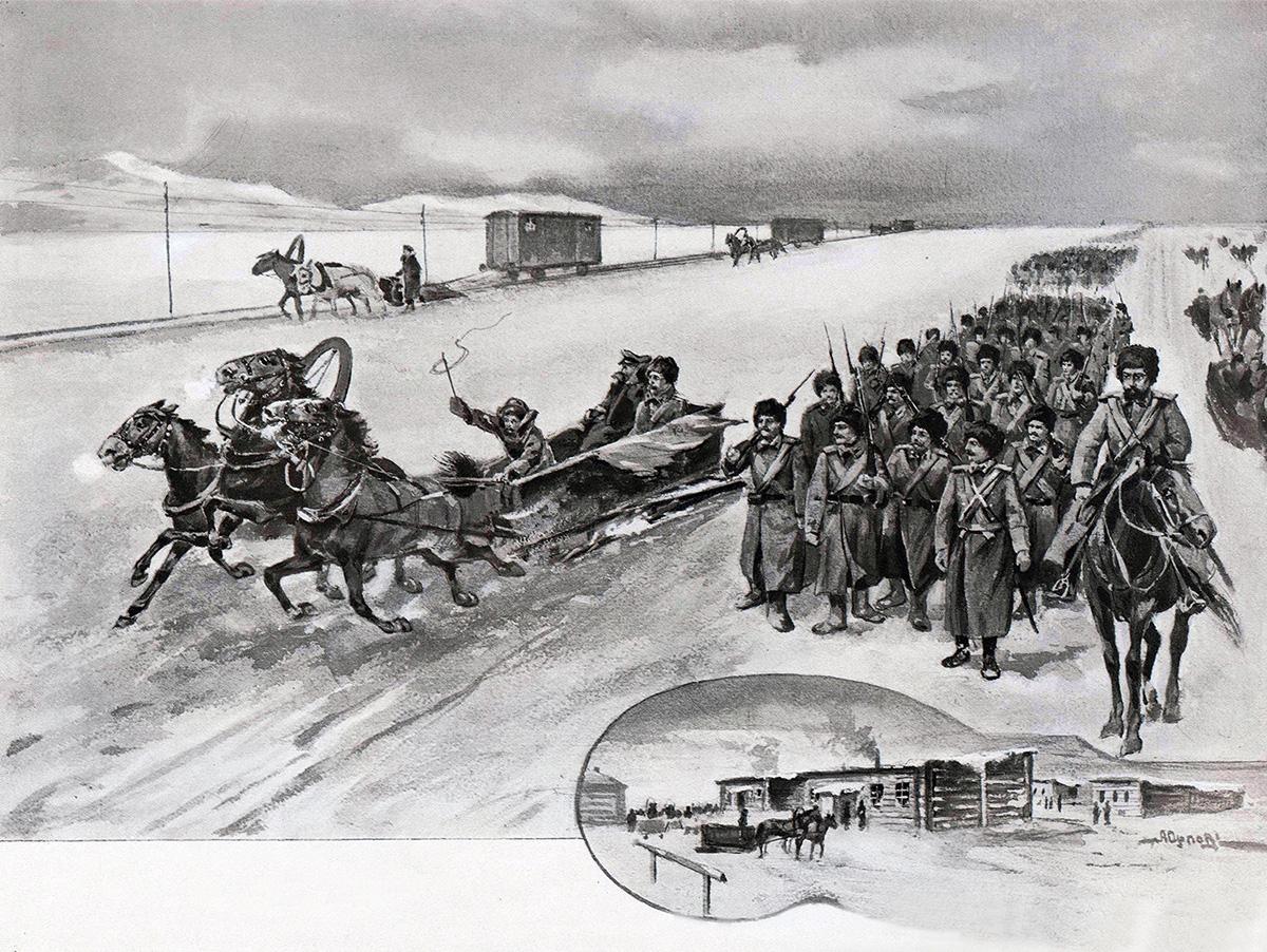 Русско-японская война. Байкальская переправа