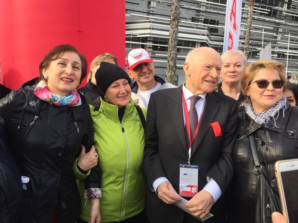 Акция 10000 шагов к здоровью с академиком Лео Бакерия