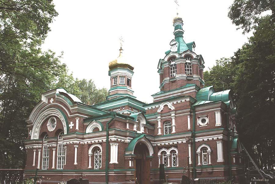 Храм святого Александра Невского в г. Минске