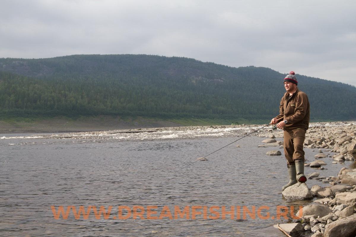 Закидушки,рыбалка на Нижней Тунгуске