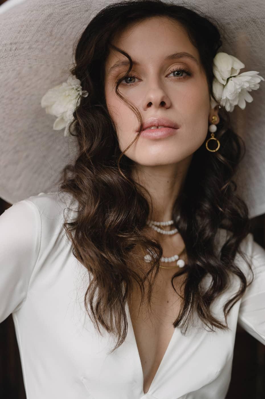 Нежный свадебный макияж 2020