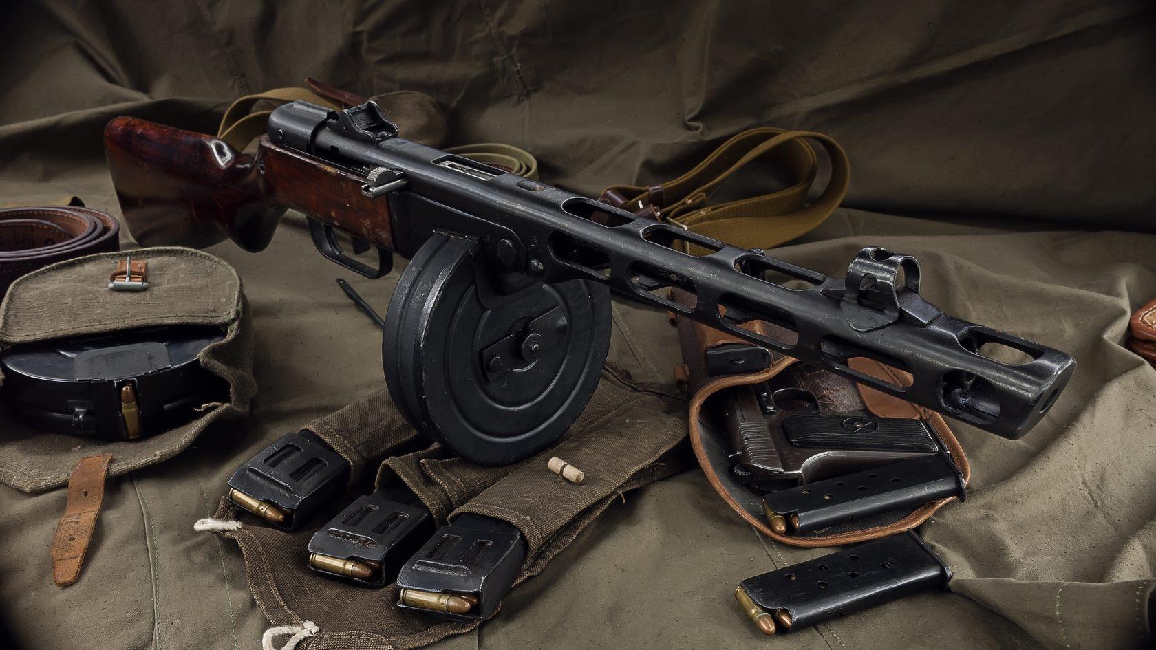 Советское стрелковое оружие картинки, день