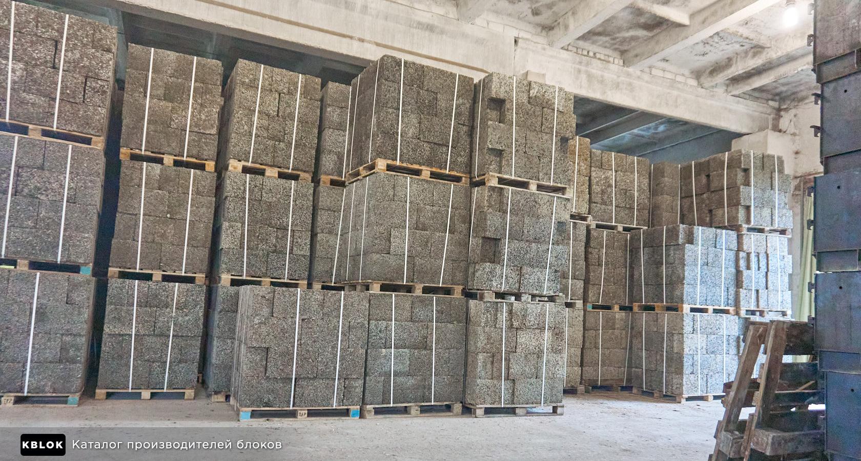 склад арболитовых блоков в Шацке