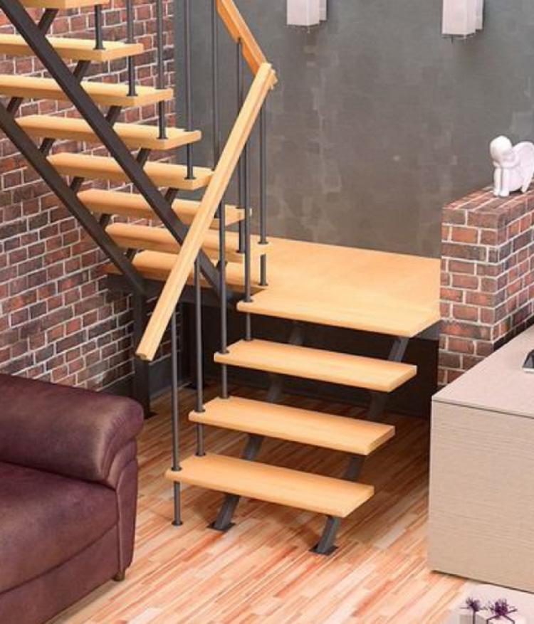 Железная лестница на второй этаж фото