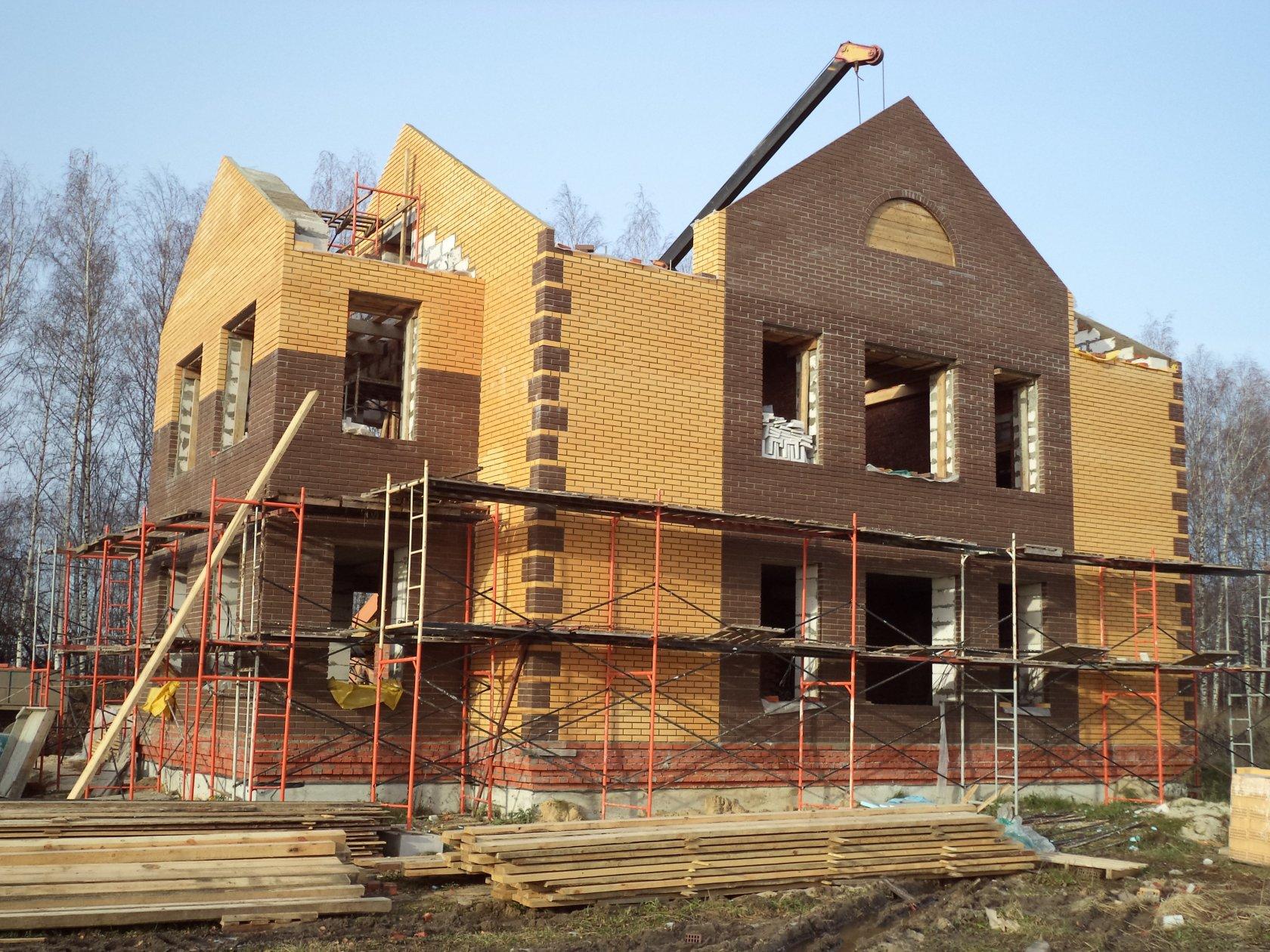 привет, строительные дома картинки частая