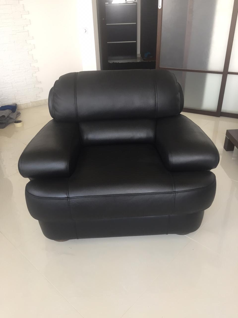 Перекраска кожаного кресла