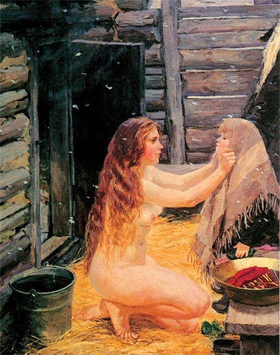 Лиски фото женщины бане большой