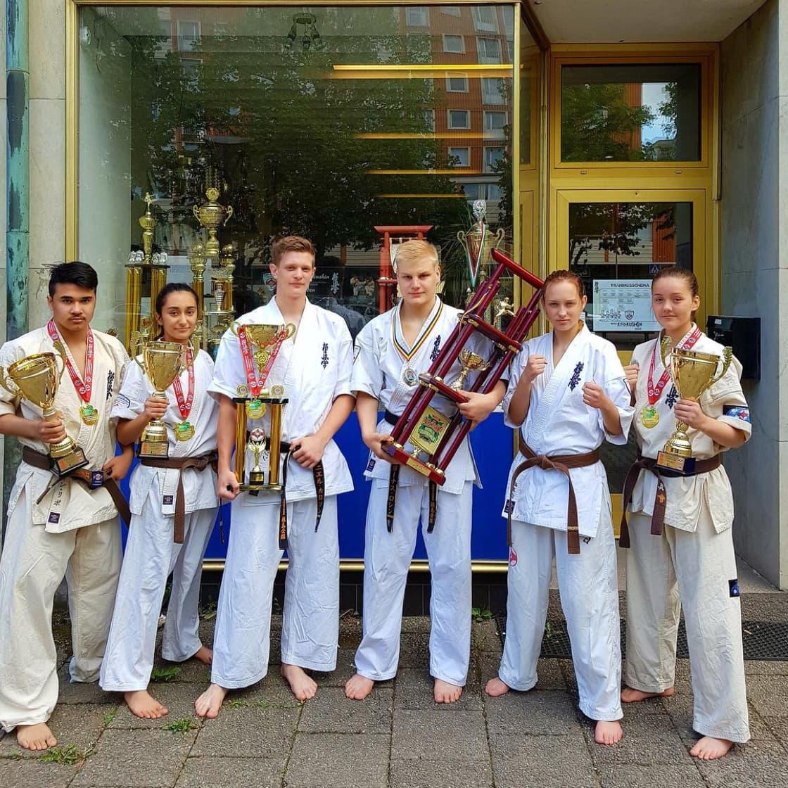 Sweden kyokushin team
