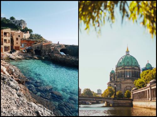 Берлин и Майорка в сентябре