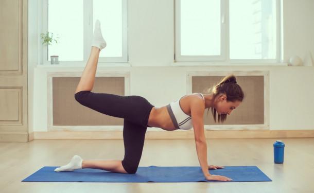 Вперше на йогу