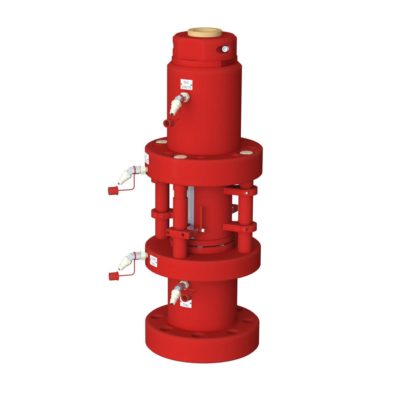 Герметизатор длинномерных безмуфтовых труб ГДБТ-100х105-К2