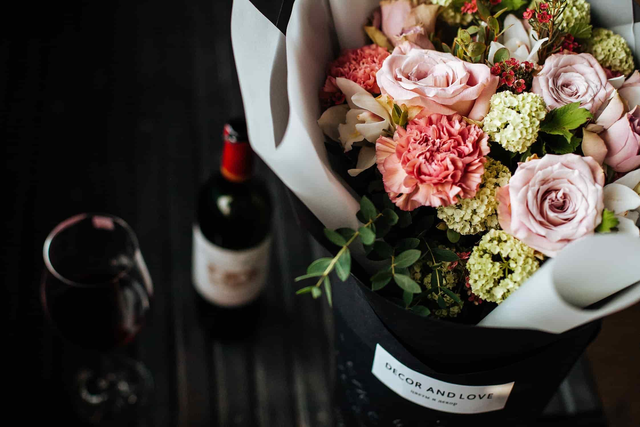 Цветы зелень, цветы купить в томске