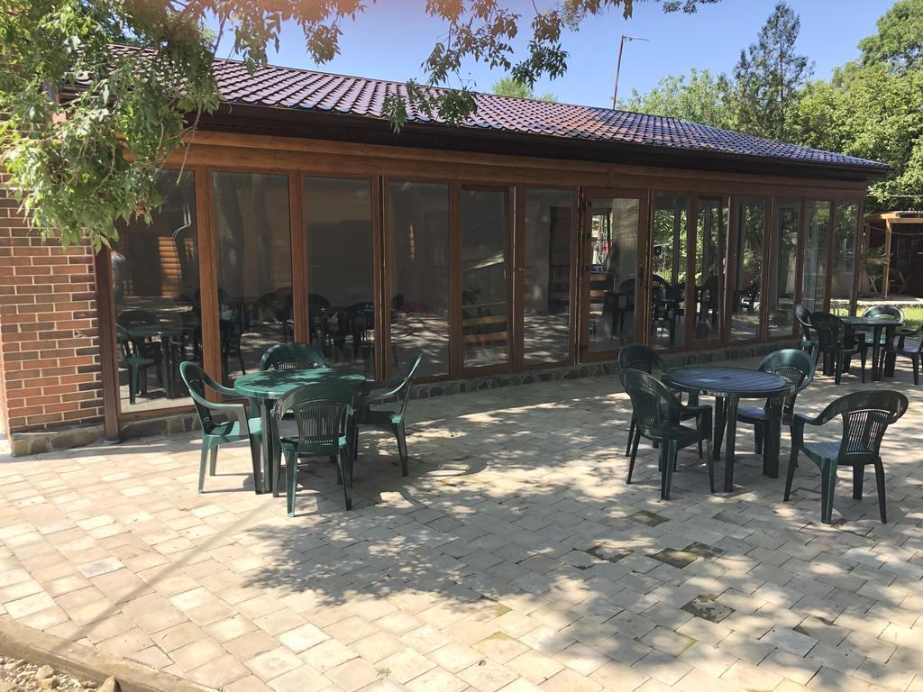 Зона отдыха в комплексе Морская республика, Лермонтово
