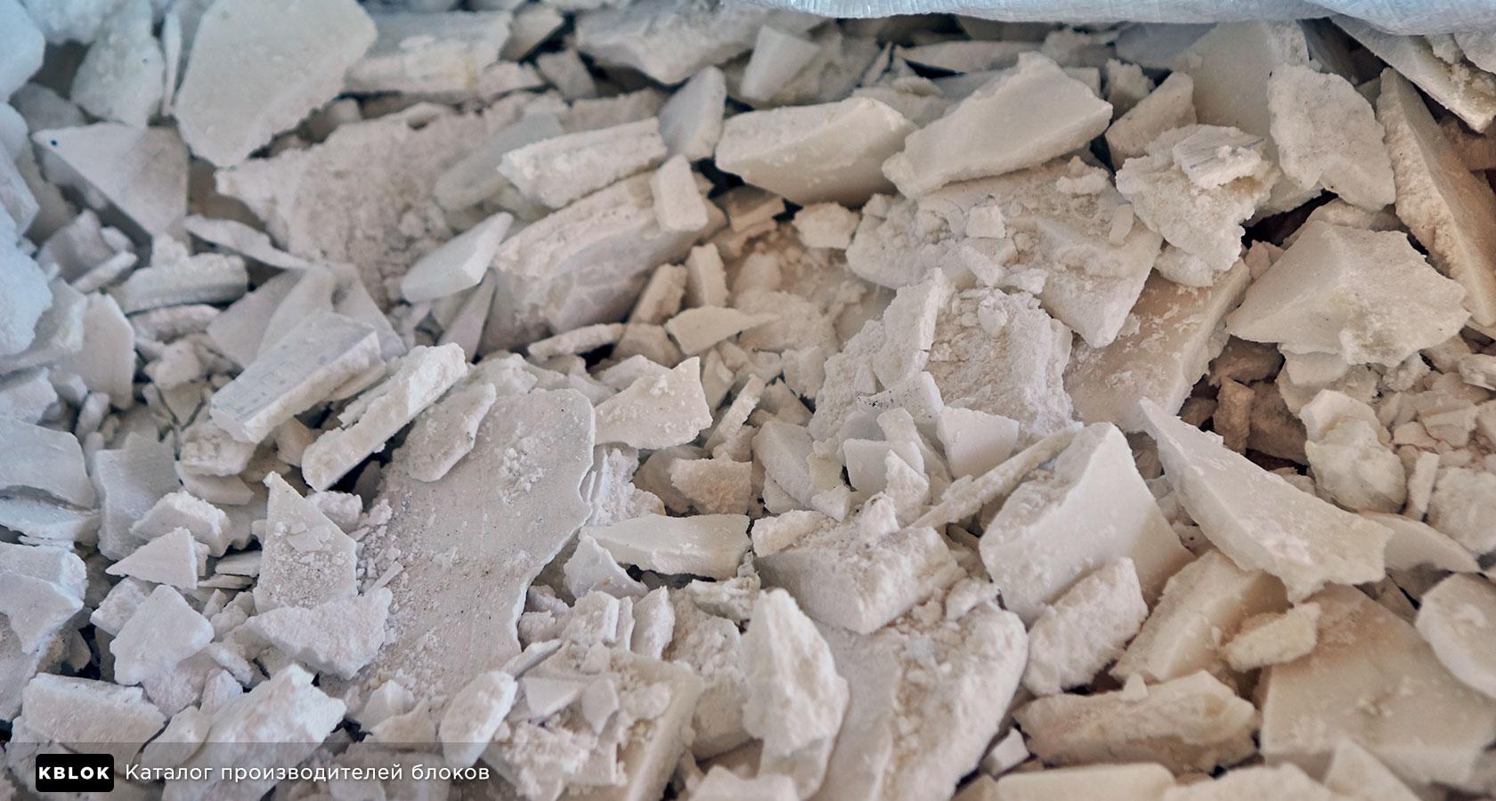 пластинчатый сульфат алюминия