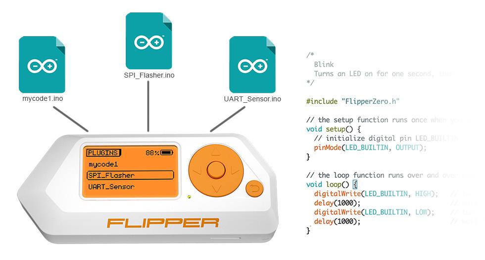 Flipper Zero plugins
