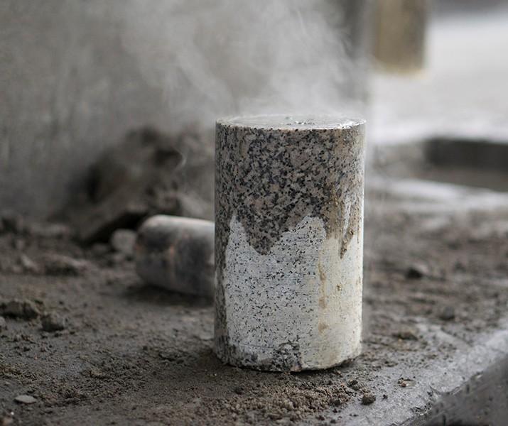 керн бетона это