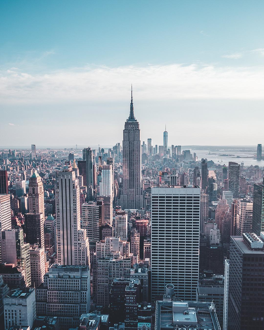 Foto van Instagram Simon Wijers, genomen op reis in New York