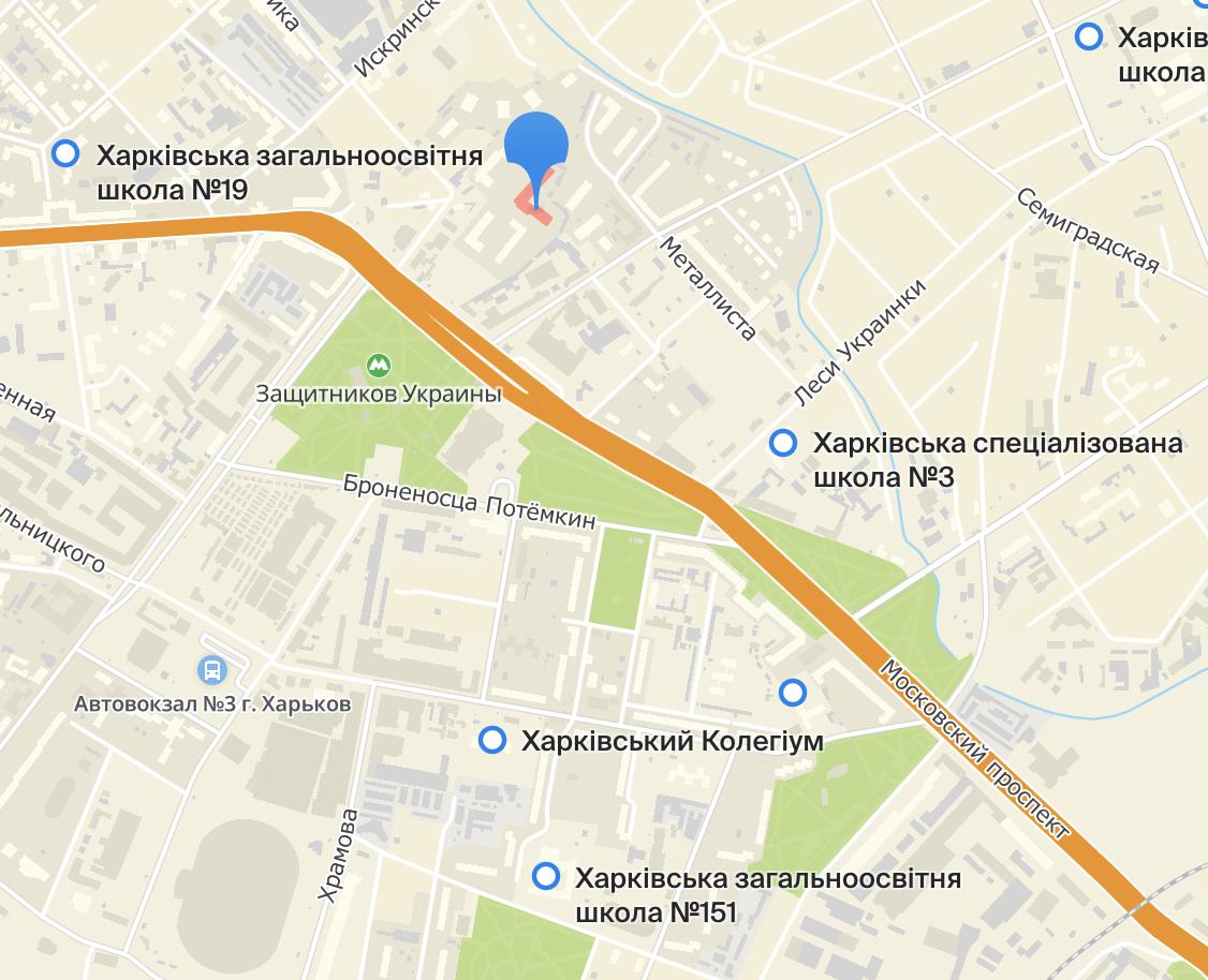 Ближайшие школы к ЖК Московскому