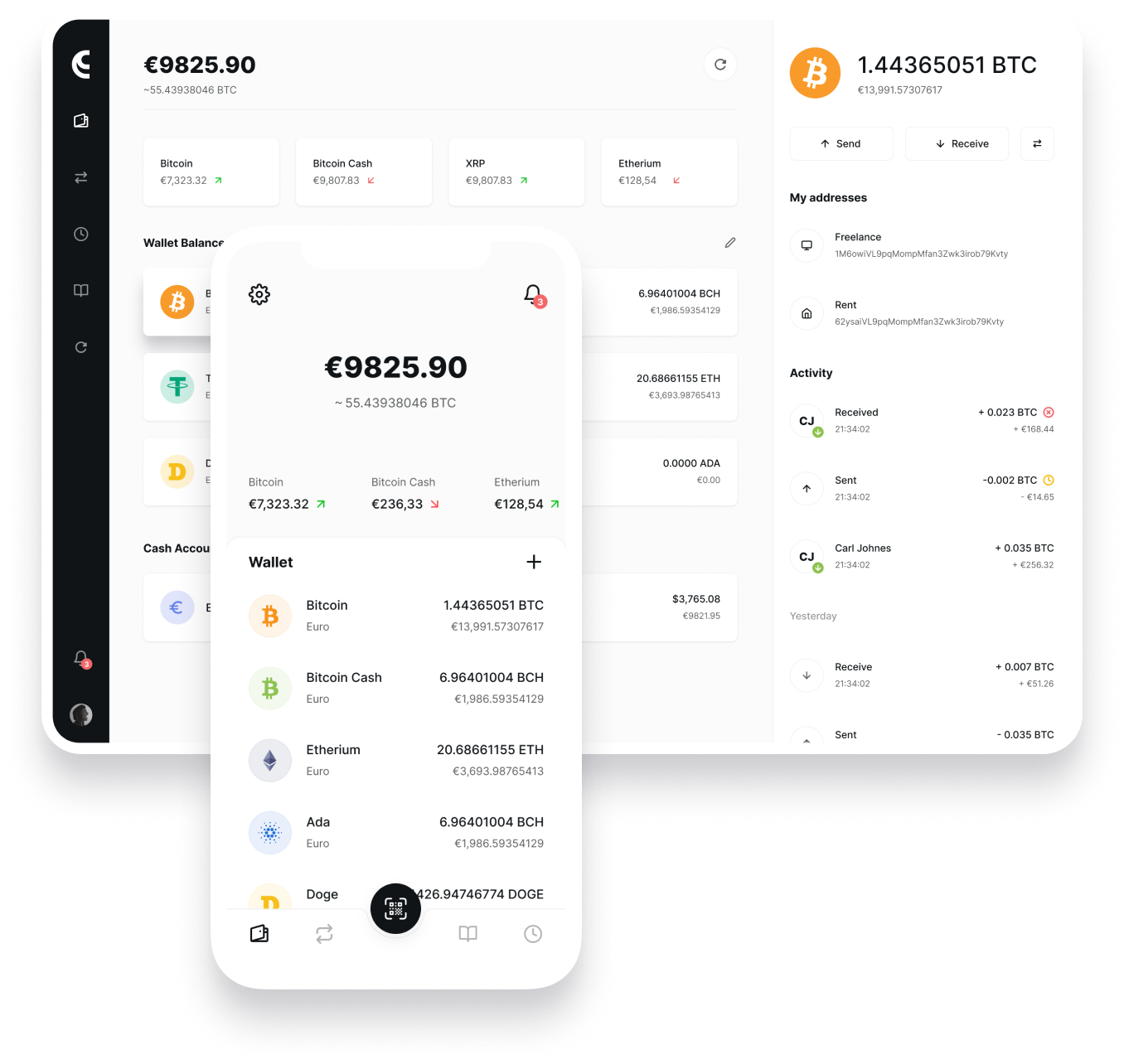 zero cryptocurrency wallet