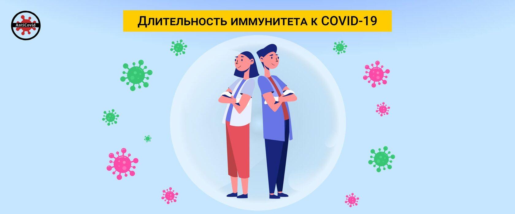 Длительность иммунитета к COVID-19