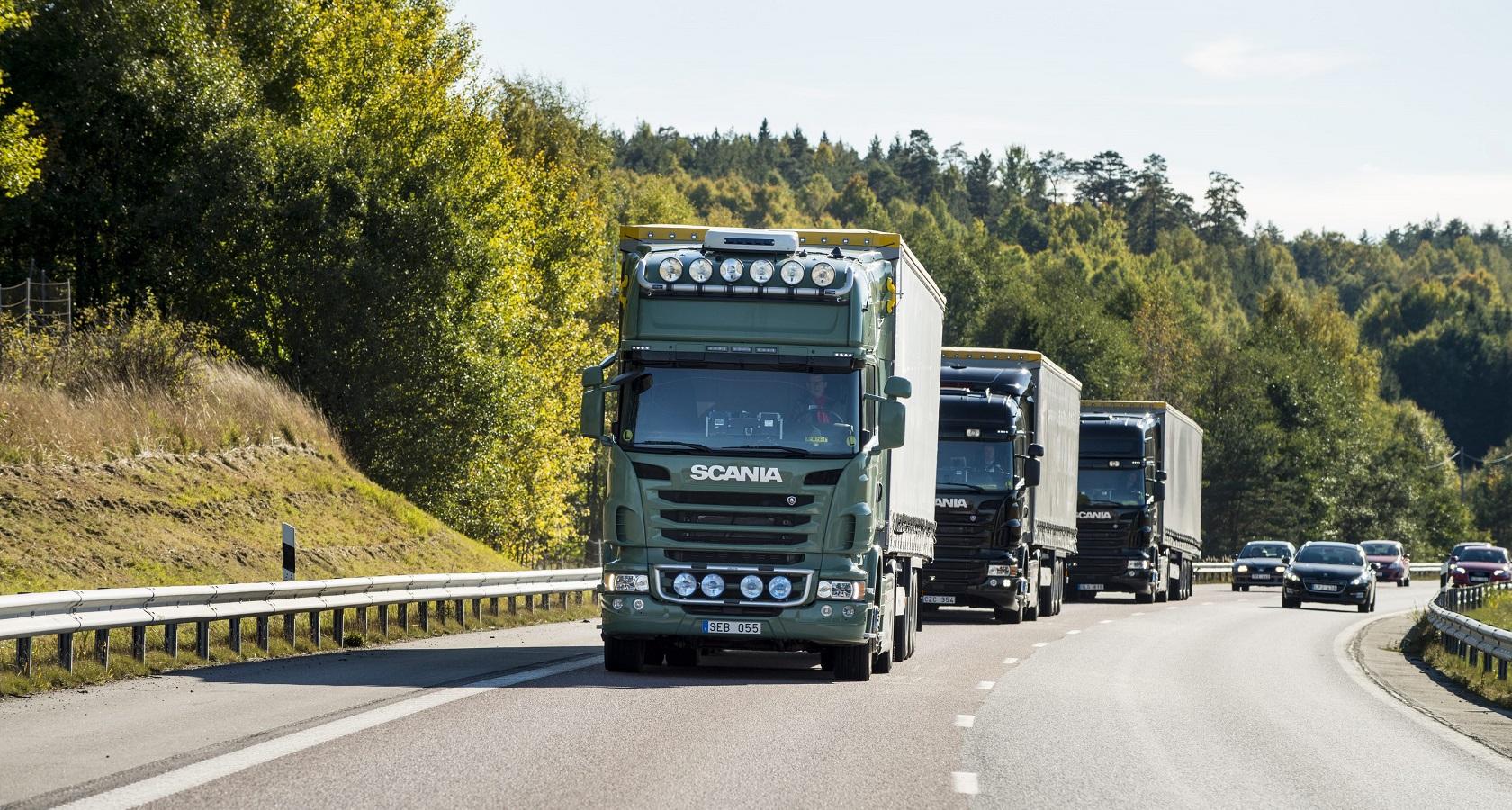 Повсеместное распространение «уберов» для грузовых перевозок возможно в том случае, если за ним будет стоять сильнейшая поддержка клиентов и всевозможные материалы по обучению (фото: Scania)