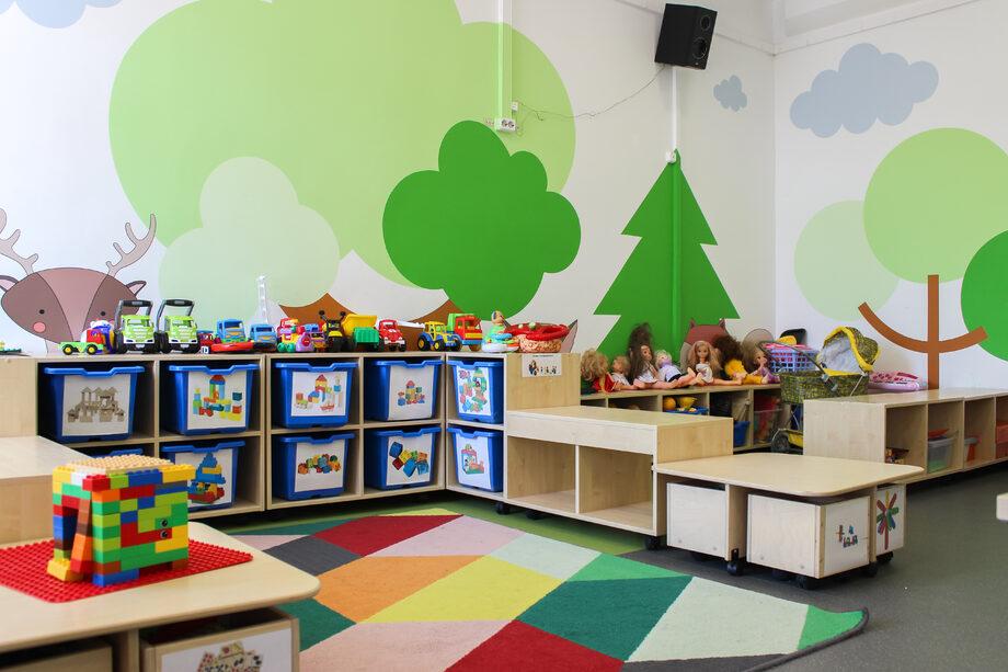 стеллаж детский сад купить