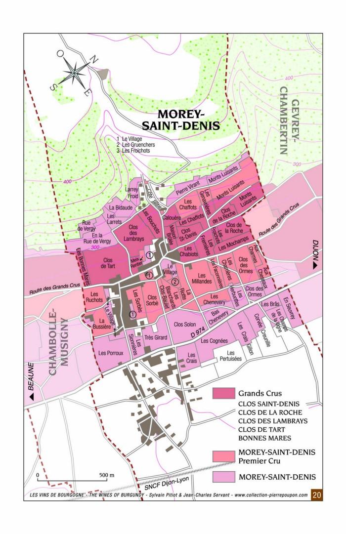 Morey-Saint-Denis Map