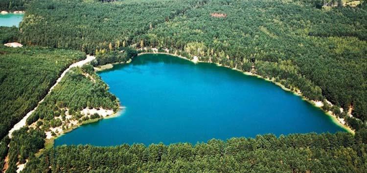 Голубые озера, село Олешня