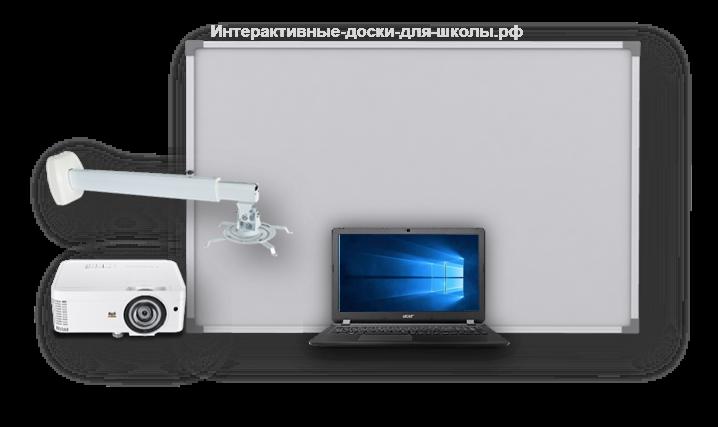 Интерактивный комплект с короткофокусным проектором
