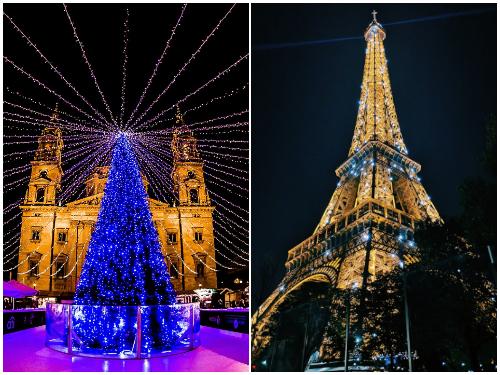Будапешт и Париж на Новый год