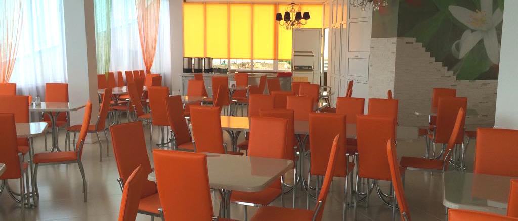 Столовая в отеле Марсель, Лермонтово