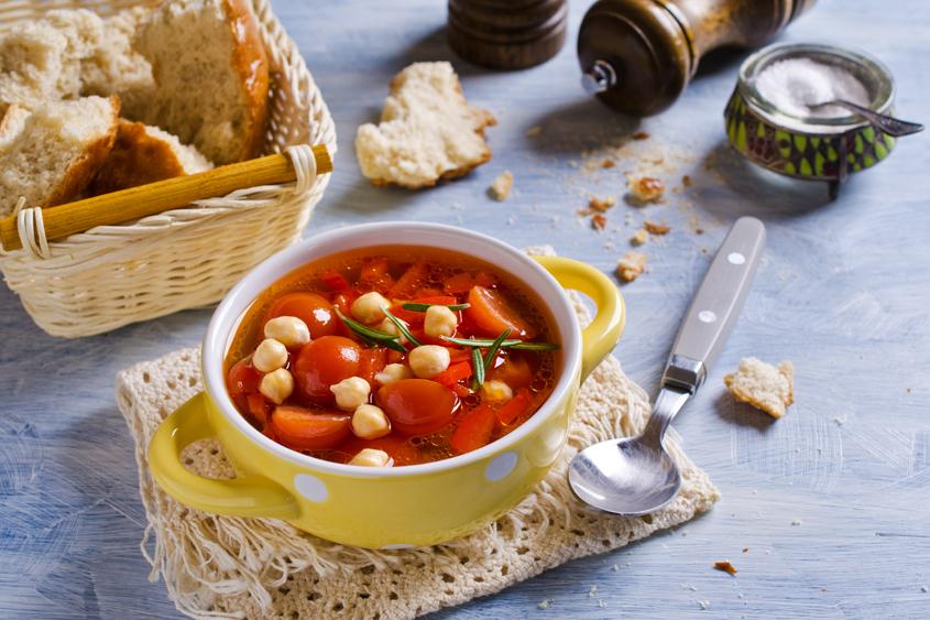 Освежаваща лятна супа с нахут Krina