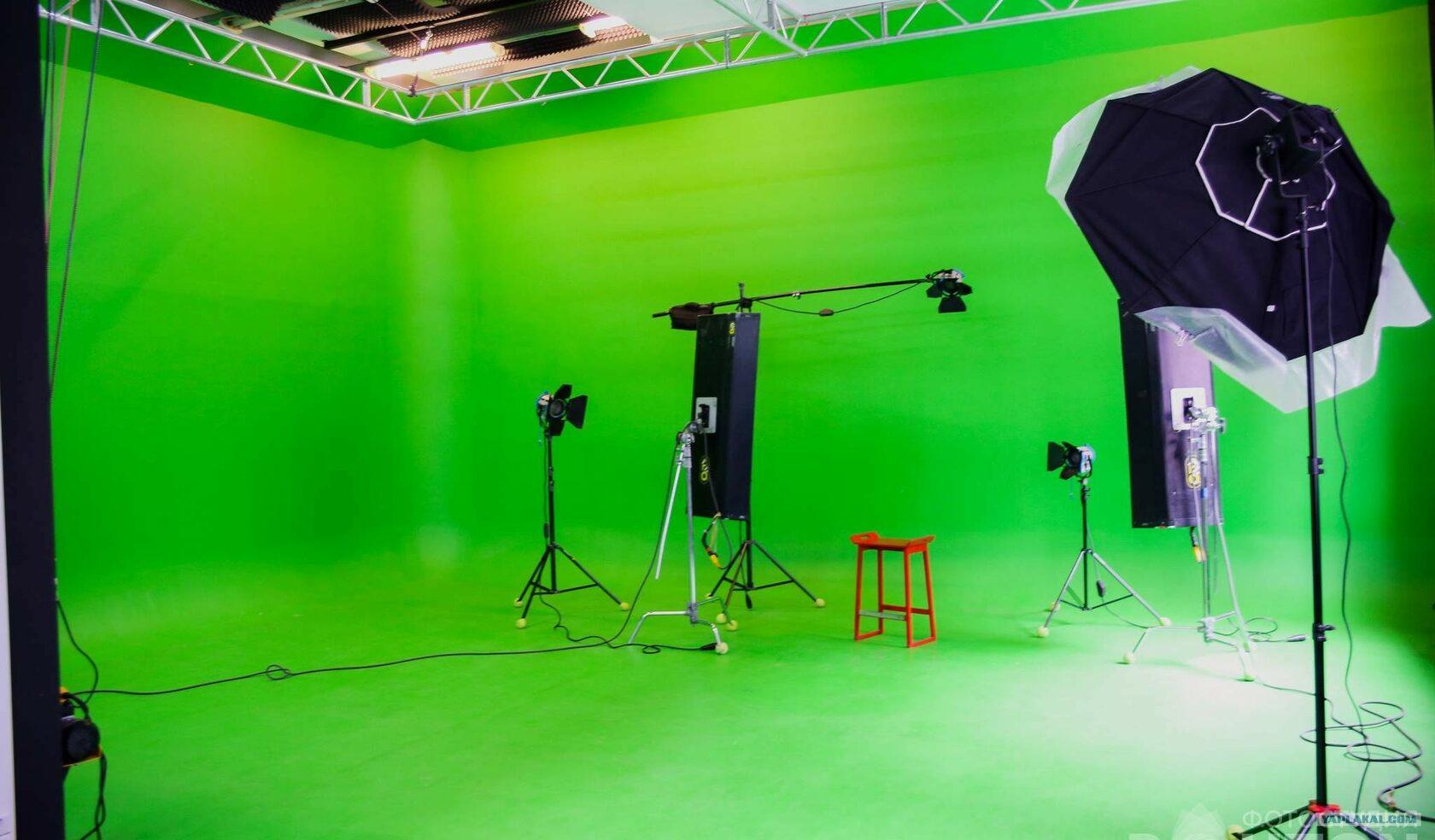 Идеальная циклорама для съемки фото для хромакея