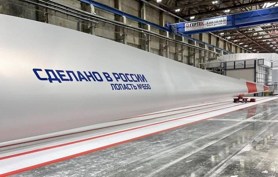 Ульяновский завод Vestas углубляет локализацию производства лопастей