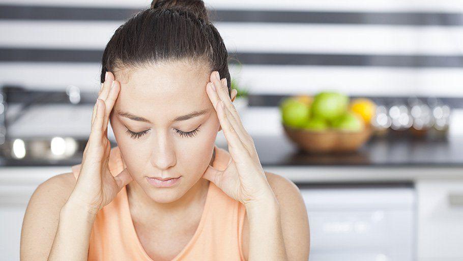 Болит голова при анемии
