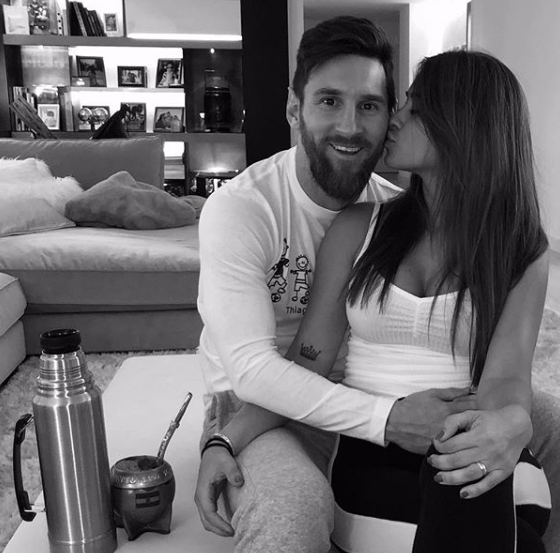 Leo Messi Instagram Love