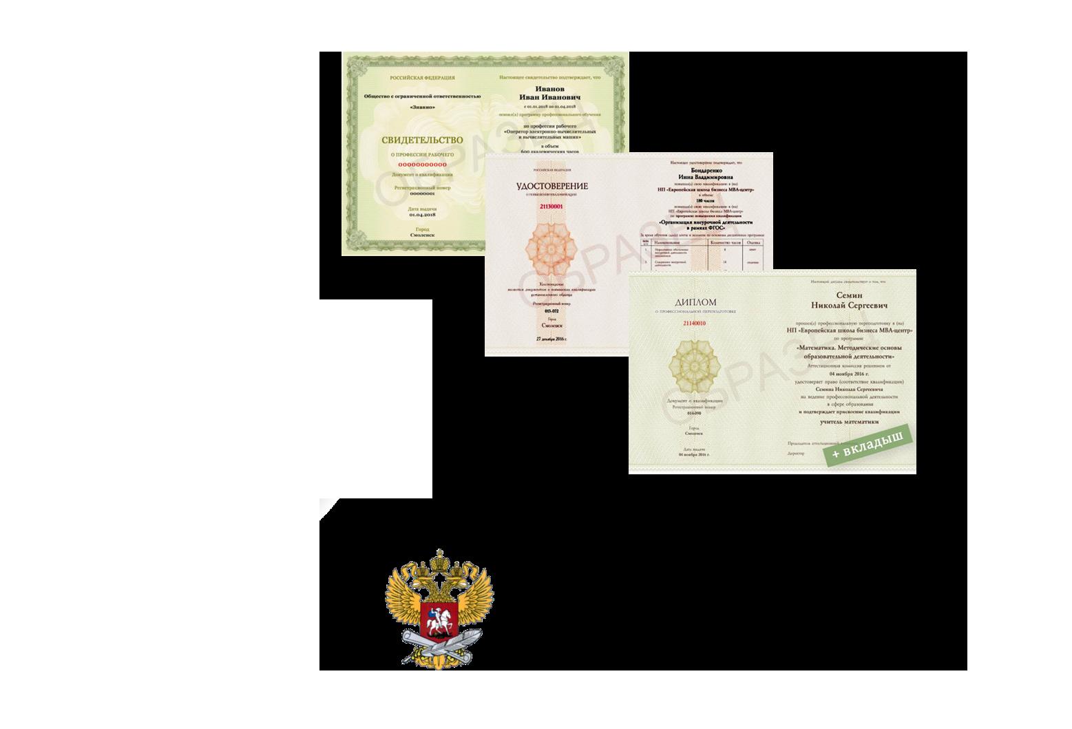 Шары + дипломы от ООО Знанио