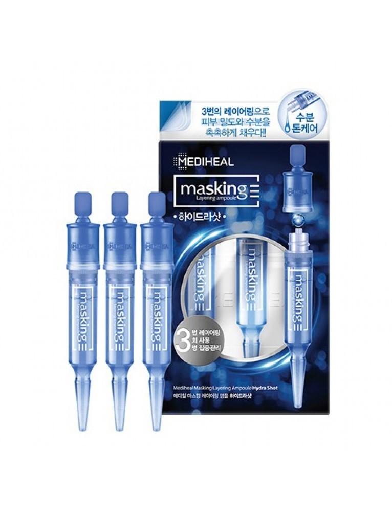 Маскирующая многослойная ампула MEDIHEAL Masking Layering Ampoule Hydra Shot
