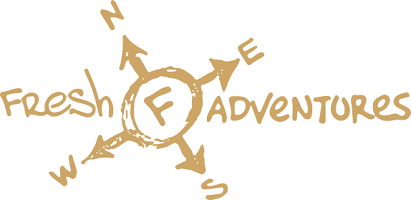 logo fresh adventures