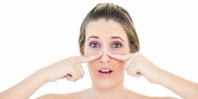 потеря обоняния и головная боль