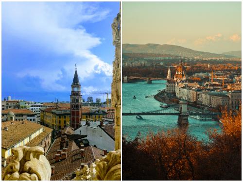 Милан и Будапешт в ноябре