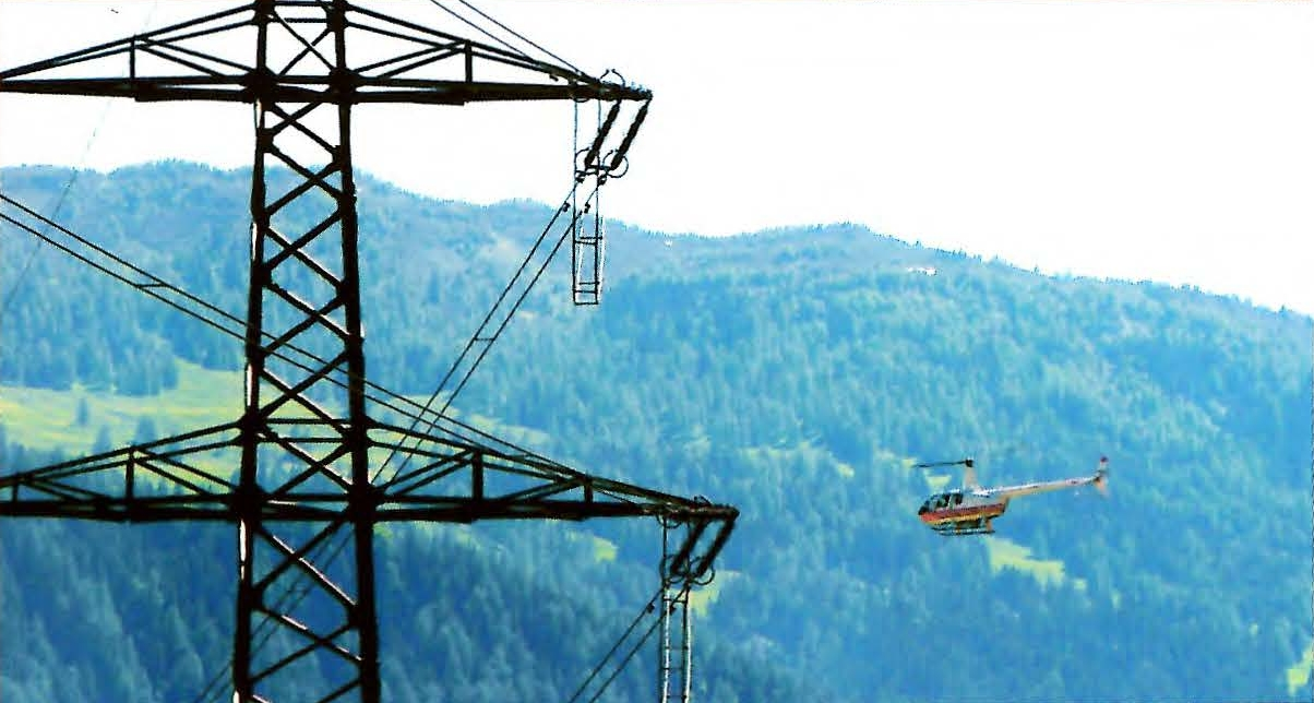 Aerial Power Line Inspection