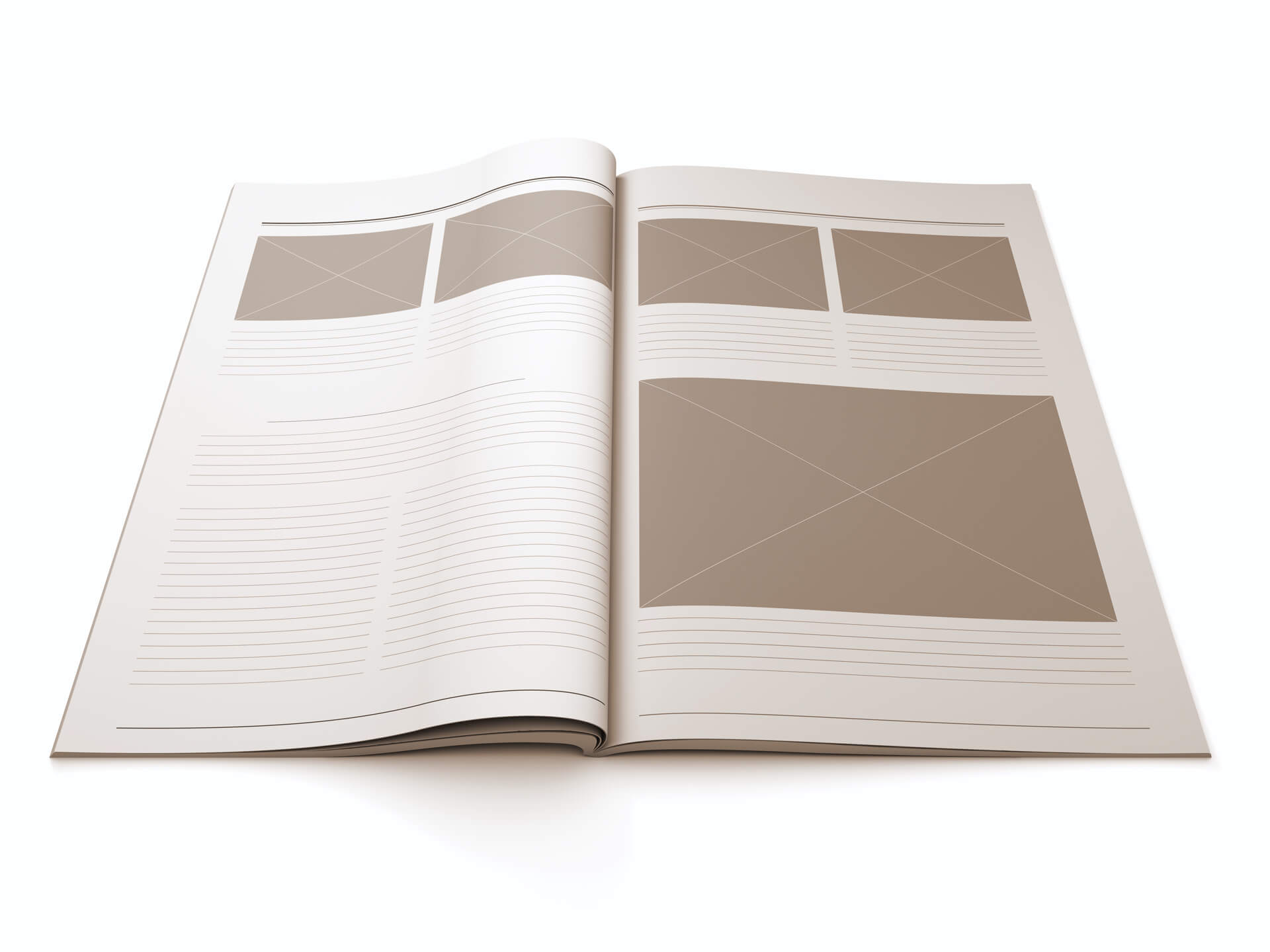 Схема работы при верстке книги