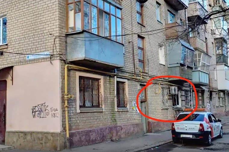 штаб партии Шария Херсон место поджога - фото