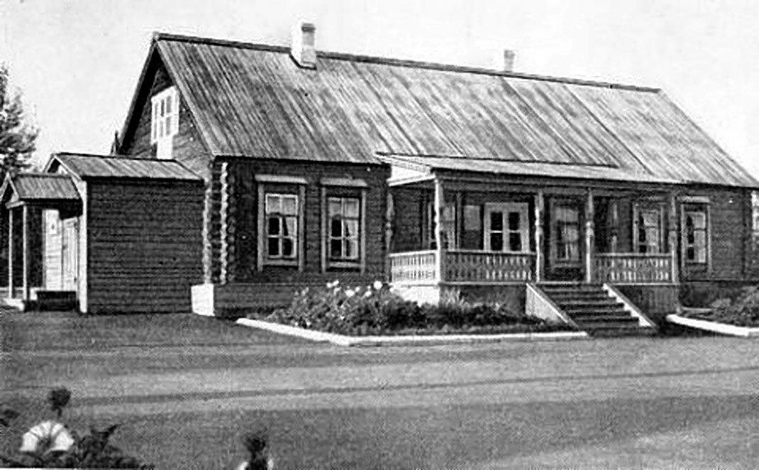 Дом из пяти комнат в имении Бланков, где всегда останавливался Володя Ульянов