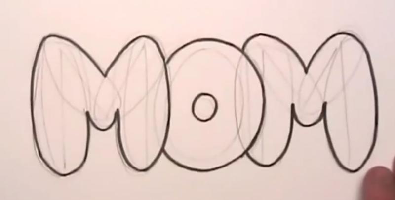 Как правильно рисовать граффити на бумаге