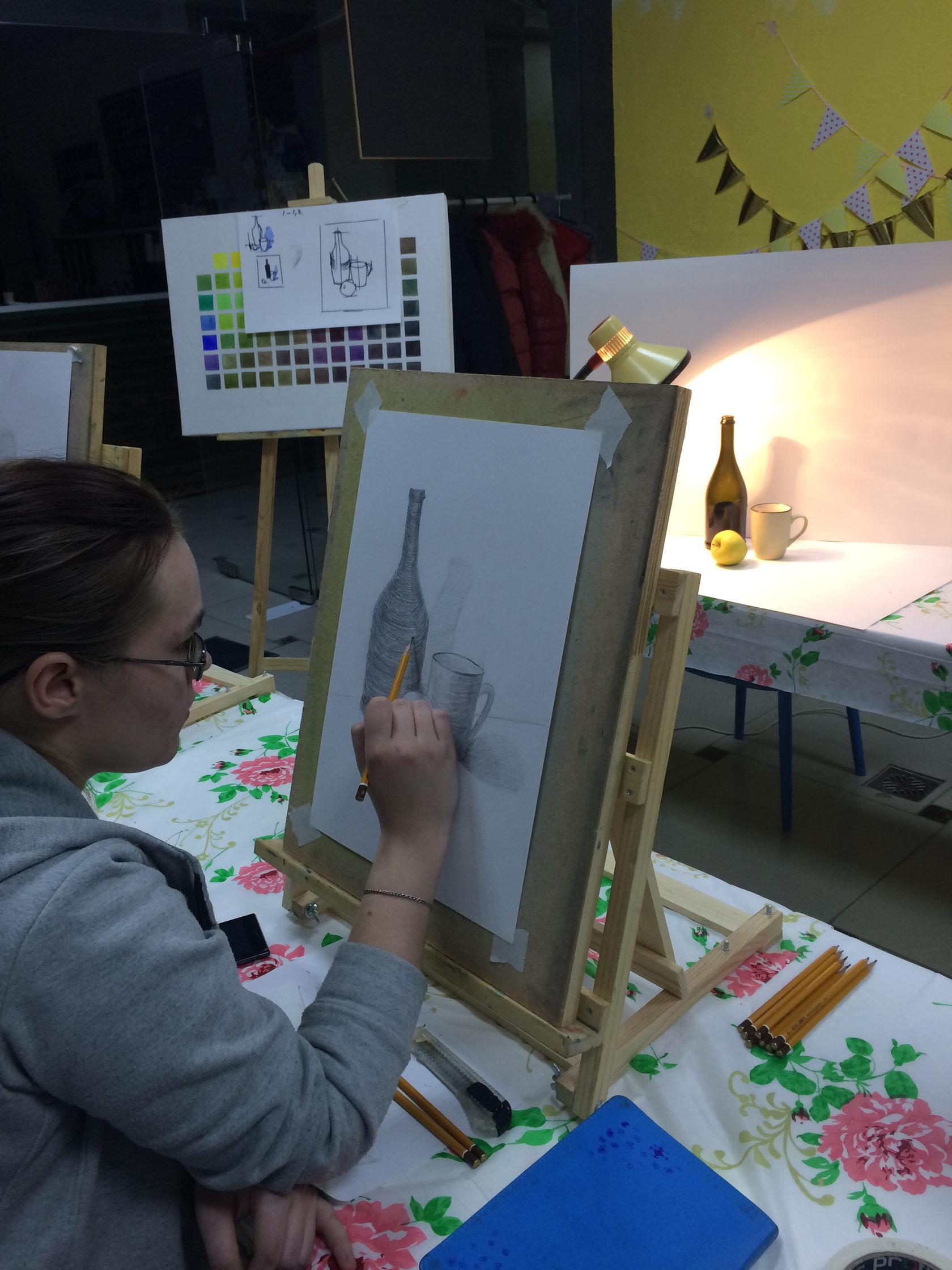 Картинки для обучения рисованию взрослых