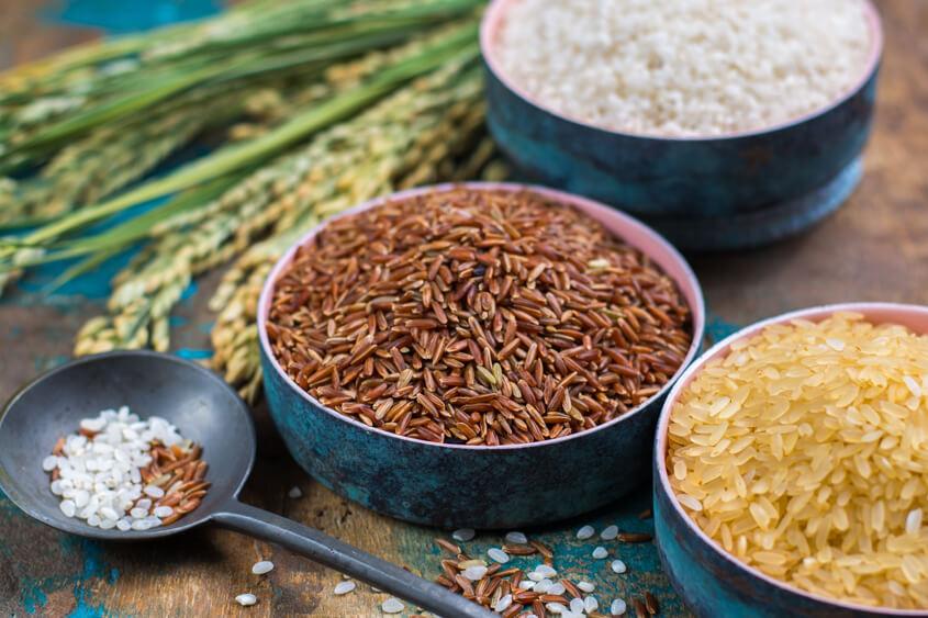 7 разлики между кафявия и белия ориз Krina